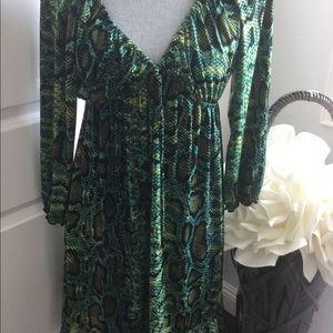 INC Flounce Dress
